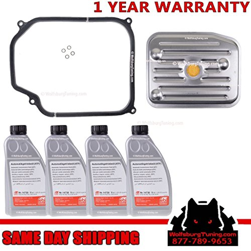 Transmission Service Filter Gasket Fluid Kit fits VW Jetta Golf Beetle MK4 MK3 01M