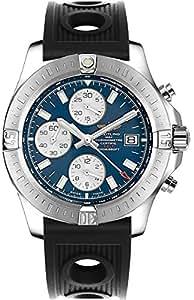 Breitling Colt Chronograph Automatic Men's Watch w/ Black Ocean Racer Rubber Strap A1338811/C914-200S