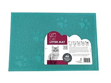 MPETS 20110309 Alfombra para de Gato - Arena de - Juego de 6: Amazon.es: Productos para mascotas