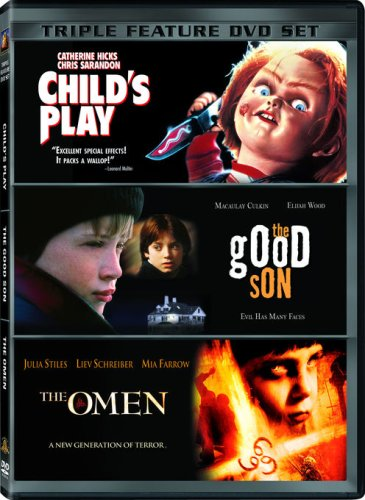 (Little Terrors Triple Feature (Child's Play / The Good Son / The Omen))