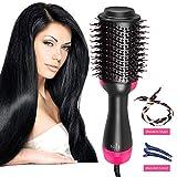 Hair Dryer, Blow Dryer Brush, One Step Hair Dryer And Styler & Volumizer, Electric Hair Brush, 2 in 1 Hair Curler Straightener, Blow And Styler