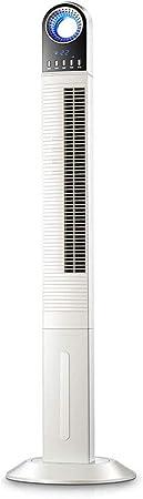 Opinión sobre FHDF Silencioso Ventilador De Torre con Mando a Distancia Portátil Oscilante 3 Velocidades 3 Viento para El Hogar Y La Oficina Temporizador De 15 Horas (Blanco, 40w 135 cm)