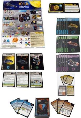Maldito Xia: Leyendas de un Sistema a la Deriva - Juego de Mesa [Castellano]: Amazon.es: Juguetes y juegos