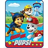 Paw Patrol Throw Blanket Style, Red & Blue