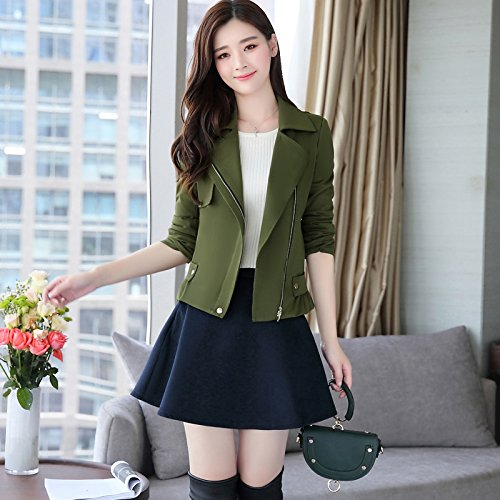 Women'S amp; Replace Jackets Army Coats SCOATWWH Look green Women'S Fresh Small Stylish And Female Jacket Jackets 7qvUvwT4