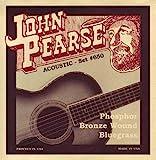 John Pearse P650 Bronze Acoustic Guitar Strings, Medium