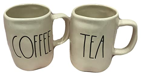 Amazon Com Rae Dunn By Magenta Tea And Coffee Mugs Set Of 2