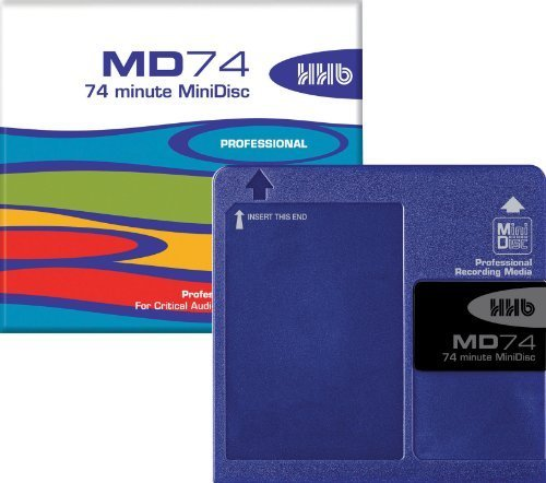 HHB MD74 Professional Audio MiniDisc