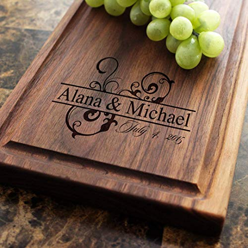 Personalized Cheese Board Engraved Cheese Plate 6x15  - Wedding Gift Anniversary Gifts Housewarming Gift Birthday Gift Corporate Gift Award ... & Amazon.com: Personalized Cheese Board Engraved Cheese Plate 6x15 ...