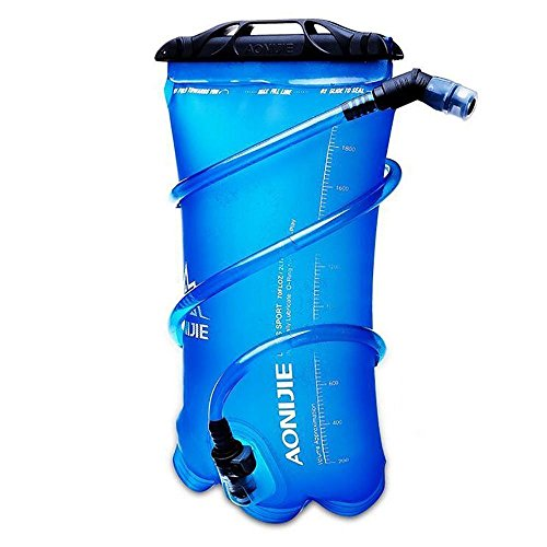 AONIJIE Hiking Hydration Bladder Water Reservoir Bottles for Bicycling Hiking Camping Reservoir (3L)