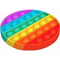 Hinder Push pop bubbla sensorisk fiol leksak, autism speciella behov stresslindring ångestavlastande leksaker…