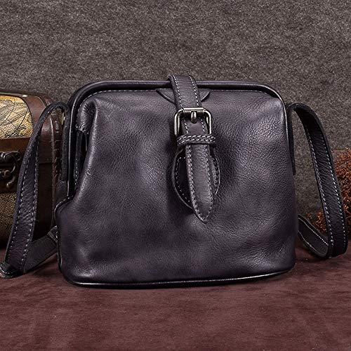 opzionali Vintage Exquisite Pelle 9 sintetica Doctor Tracolla Elegante Shoulder colori Capacity Bag Casual Vintage Simple Large Womens Wild Grigio Ptt8AUxwq