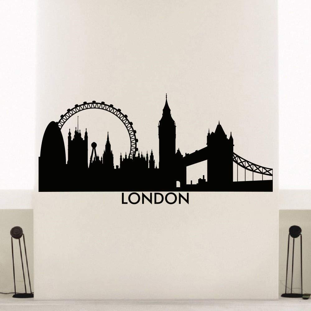 caowenhao London Skyline Wall Sticker Vinilo Tatuajes de Pared ...