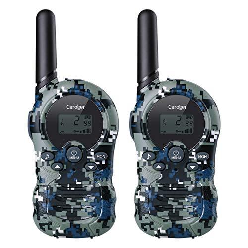 dc8eacc5129 Caroger Walkie Talkies Kids Two-Way Radio Mini Walkie Talkie Long Range 22  Channels Walkie