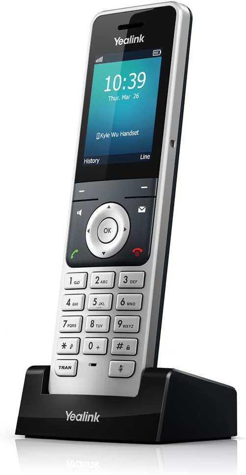 Yealink W56H - Teléfono IP, color negro: Yealink: Amazon.es: Electrónica