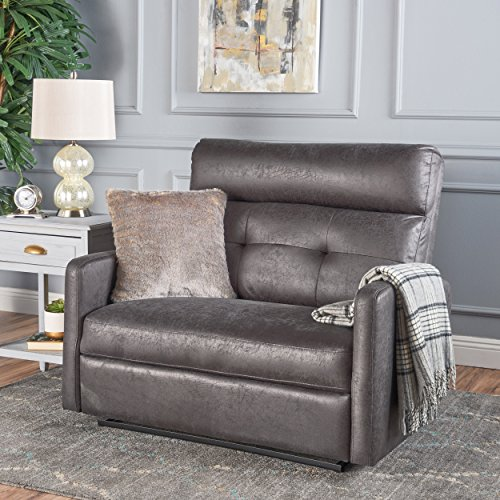 Christopher Knight Home 301307 Hana Recliner, Microfiber/Slate