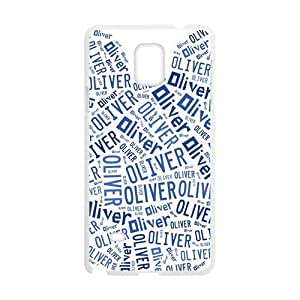 Oliver Lovely blue bear head Cell Phone Case for Samsung Galaxy Note4