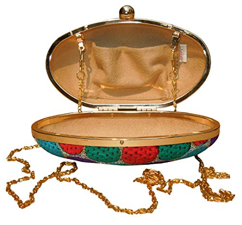 Spice Art Multi Box Clutch, Poschette giorno donna Multi