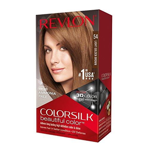 Revlon ColorSilk Haircolor, Light Golden Brown (54)