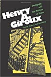 Henry A. Giroux is one of the most respected and well-known critical education scholars, social critics, and astute observers of popular culture in the modern world. For those who follow his considerably influential work in critical pedagogy and soci...