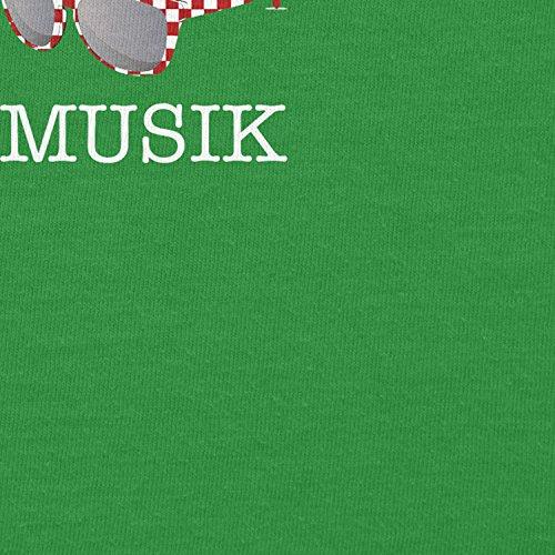Texlab Ich Rocke Volksmusik - Herren T-Shirt, Größe XL, Grün