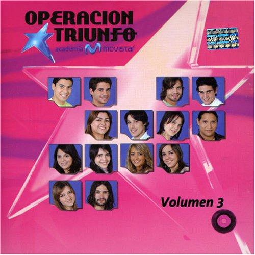 Vol. 3-Operacion Triunfo Academia Movistar