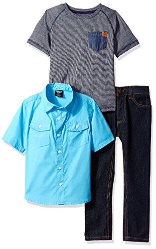 American Hawk Boys Short Sleeve, T-Shirt and Pant Set (More Styles)
