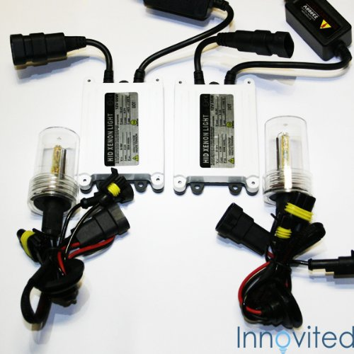 Innovited 55w Ac HID Xenon Conversion Kit H11 H9 H8 10000k Slim Ballast