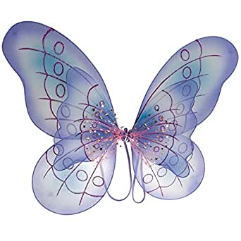 Amazon.com: Purple Butterfly Costume Dress-up Wings: Clothing