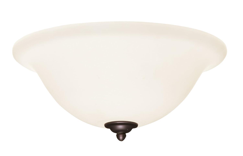 Medium Base CFL Emerson Ceiling Fans LK74VNB Opal Matte Light Fixture for Ceiling Fans