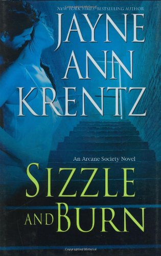 book cover of Sizzle and Burn