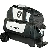 KR Strikeforce Oakland Raiders Double Roller Bowling Bag, Multicolor