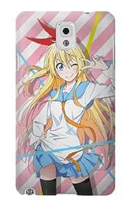 S1724 Nisekoi Chitoge Kirisaki Case Cover For Samsung Galaxy Note 3