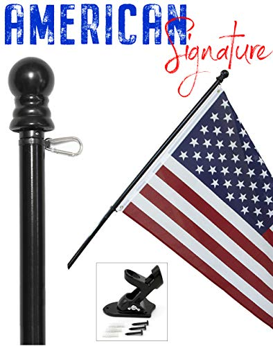 American Flag and Pole
