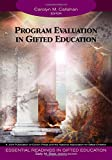 img - for Program Evaluation in Gifted Education (Essential Readings in Gifted Education Series) book / textbook / text book