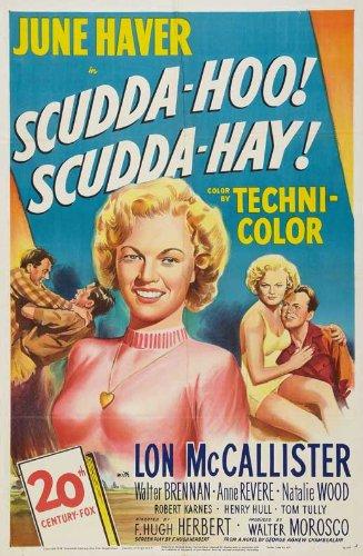 Amazon.com: Scudda Hoo! Scudda Hay! Poster Movie B 11 x 17 ...