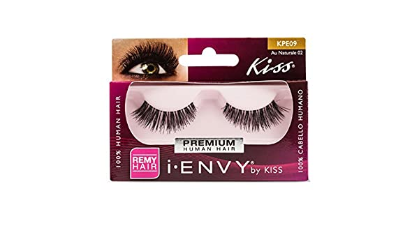 Kiss I Envy Au Naturale 02 Lashes by kiss i envy: Amazon.es ...
