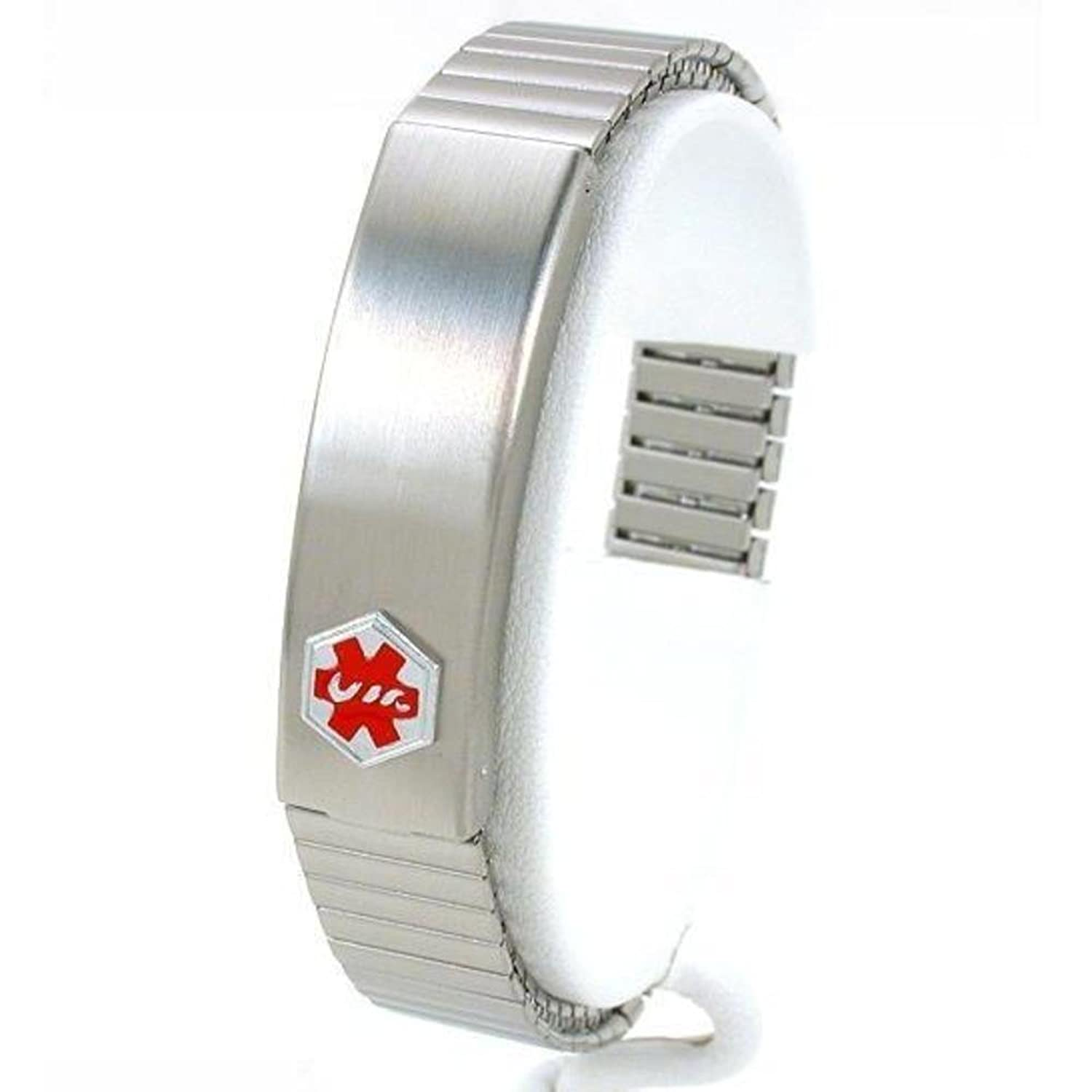 cuban s engraving alert products mens link silver information medical id heavy engraved mm men bracelet sterling