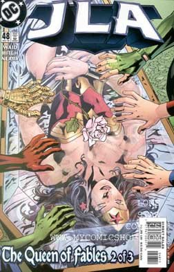 JLA #48 ((The Queen of Fables 2 of 3)) ebook