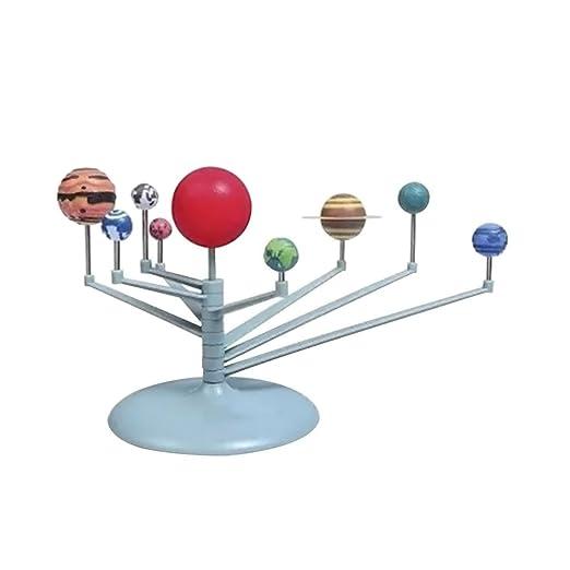 Toyvian Sistema Solar Modelo planetario para niños Educación de la ...