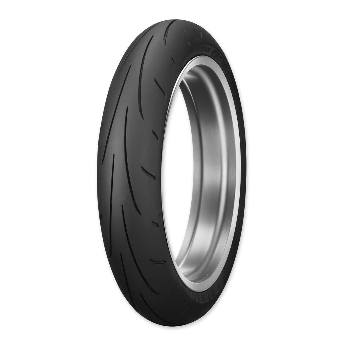 Dunlop Sportmax Q3+ Front Motorcycle Tire 120/70ZR-17 (58W) - Fits: Aprilia Caponord 1200 ABS 2014-2018 by Dunlop Tires