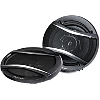 Pioneer 6x9 420W Max + 6.5 320W Max 3-Way Car Stereo Coaxial Speaker Package