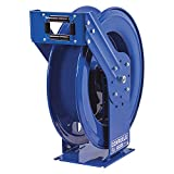Coxreels TMPL-N-3100 Supreme Duty Spring Rewind Hose Reel for air/water/oil: 3/8'' I.D., 100' hose capacity, less hose, 3000 PSI
