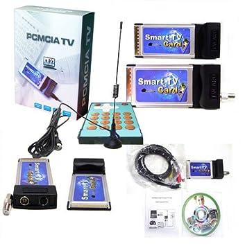 Amazon.com: Tarjeta de captura de TV Tuner PCMCIA Cardbus ...