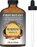 Frankincense Essential Oil With A Glass Dropper – Big 4 Fl. Oz – 100% Pure & Natural With Premium Quality & Therapeutic Grade – Ideal for Aromatherapy & Massages