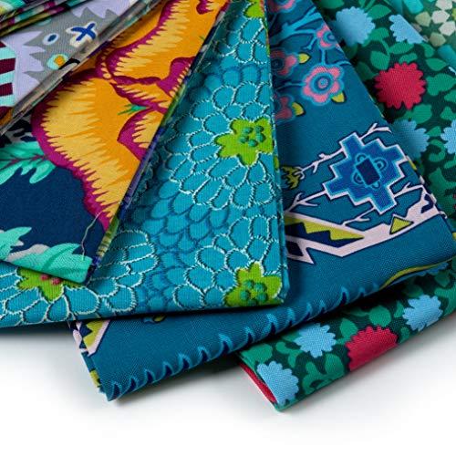 FreeSpirit Fabrics 50 Piece Designer Fat Quarter Fabric, Multicolor by Free Spirit Fabrics (Image #2)