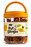 Pet 'n Shape Chik 'n Breast - 100-Percent Natural Chicken Jerky Dog Treats, 1-Pound