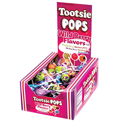 Tootsie Pops Wild Berry Flavors, 3.75 Pounds by Tootsie Roll (Image #1)