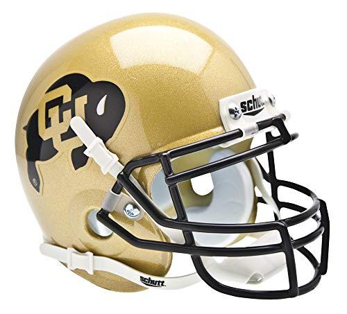 - Schutt NCAA Colorado Buffaloes Mini Authentic XP Football Helmet