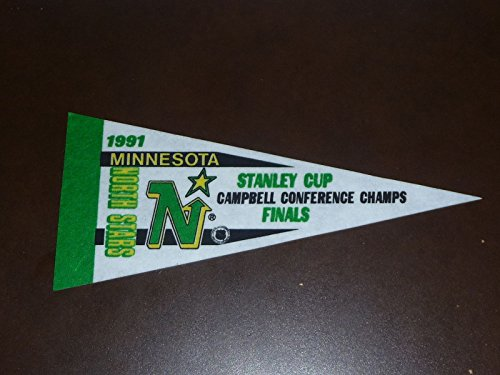 (1991 NORTH STARS STANLEY CUP FINALS MINI PENNANT)